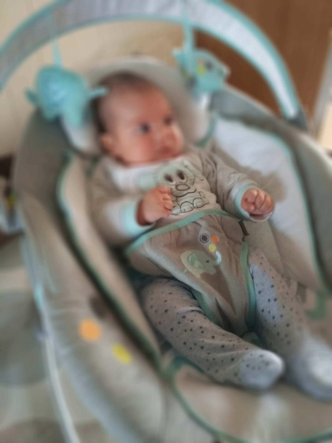slikanje dojenčka